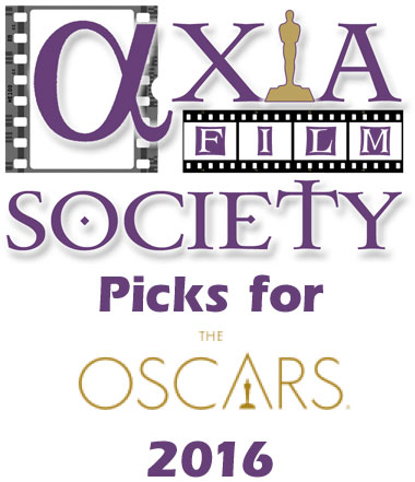 The Axia Film Society's picks for the Oscars 2016