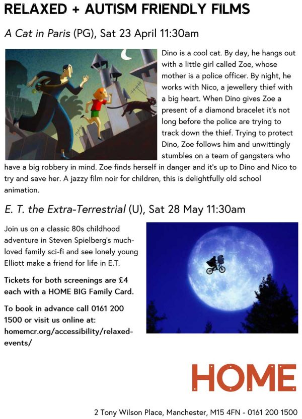 Relaxed + Autism Friendly Films