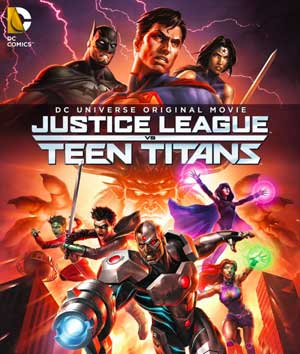 Justice League Vs Teen Titans - Review