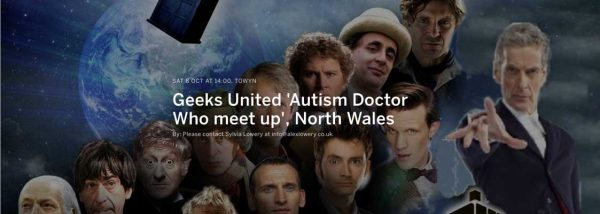 Geeks United 'Autism Doctor Who meet up', North Wales