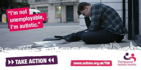 "NAS Petition - ""I'm not unemployable, I'm autistic"""