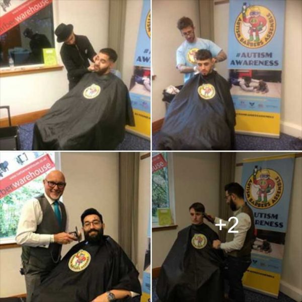 Autism barbers assemble