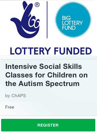 ChAPS New intensive courses for children and adults on the autism spectrum
