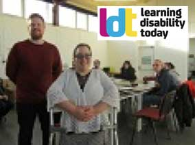 Autistic woman lands job training others with autism and learning disabilities