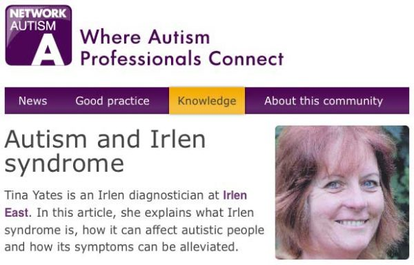 Network Autism - Autism and Irlen syndrome
