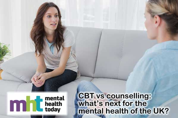 CBT vs counselling: what's next for the mental health of the UK?
