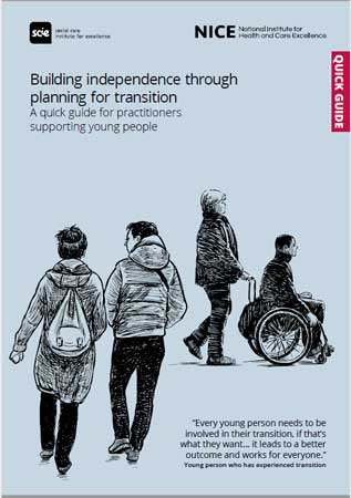 New quick guide from NICE/SCIE – Children's to adults' services transition