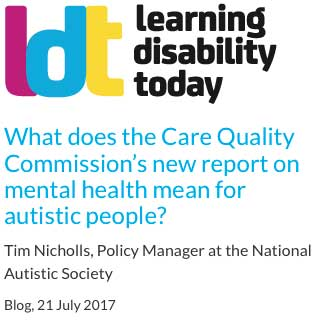 LDT - Care Quality Commission's new report