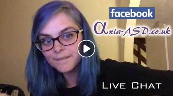 FaceBook Live Chat - Agony Autie with Axia ASD Ltd.