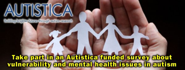 "Autism ""Vulnerability And Mental Health Issues"" Study"