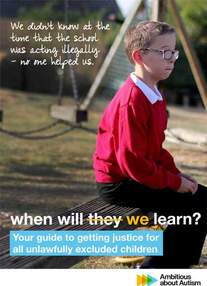 LDT - Thousands of autistic children excluded from school