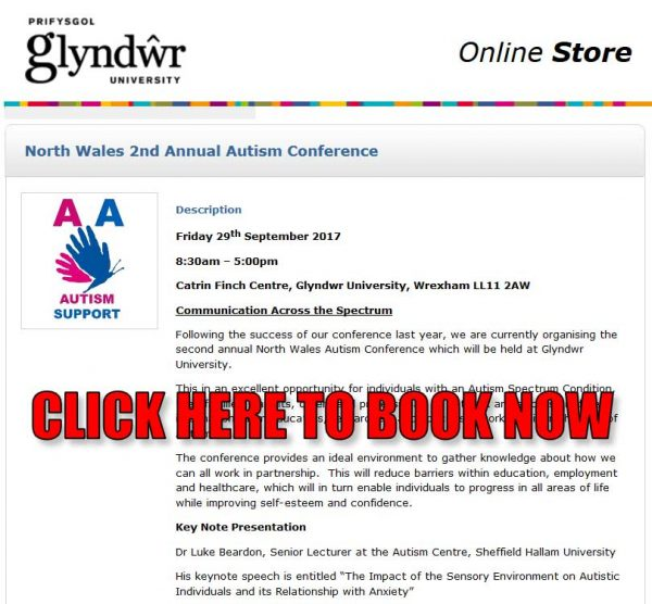 """North Wales """"2nd Annual Autism Conference"""" this Friday"""
