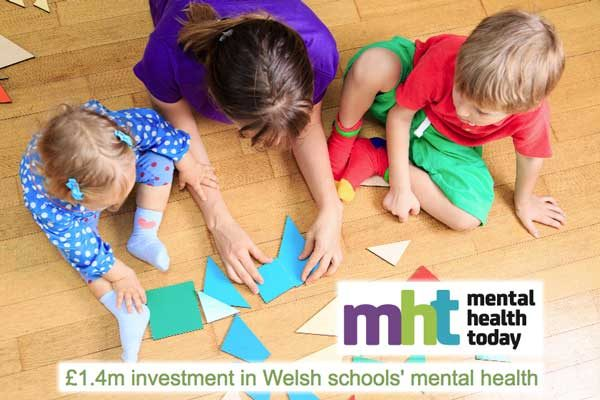 £1.4m investment in Welsh schools' mental health