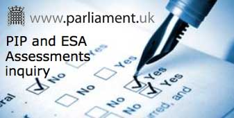 PIP and ESA Assessments inquiry