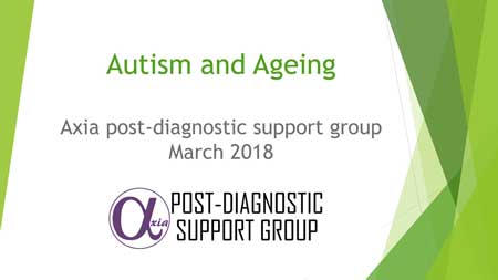 Autism and Ageing - PDSG Presentation