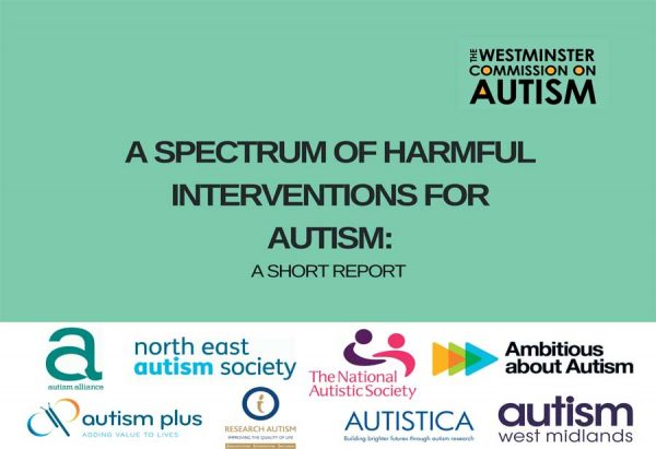 Harmful Autism Interventions - The Westminster Commission on Autism