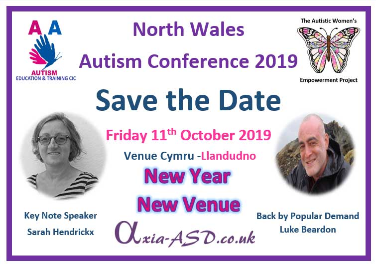 NW Autism Conference 2019 - Save The Date - Axia ASD